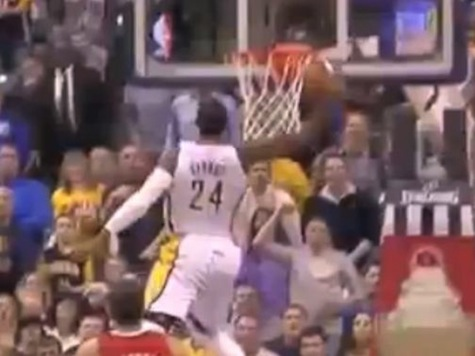 Indiana Pacers Star Paul George Lands Ridiculous 360-Degree Dunk in Win Over LA Clippers