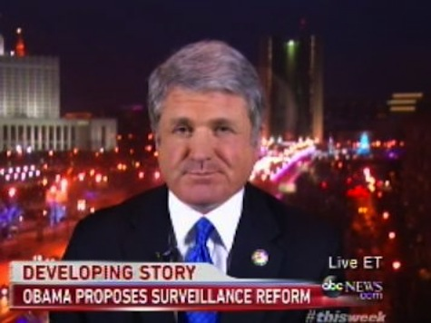 House Homeland Security Chairman MIchael McCaul: Foreign Power Helped Snowden