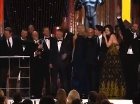 Breaking Bad 'Neo-Nazi' Actor Does 'Heil Hitler' Salute at SAG Award
