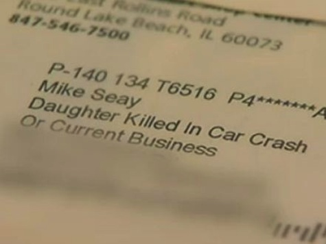 Father Receives OfficeMax $10 Coupon Addressed to 'Daughter Killed In Car Crash'
