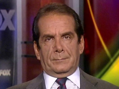 Krauthammer: Iran Deal a 'Catastrophe,' Netanyahu 'Has to Act'