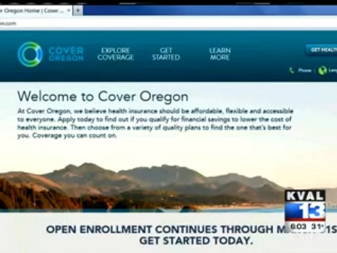Cover Oregon Spent $200 Million on ObamaCare Website that Still Doesn't Work
