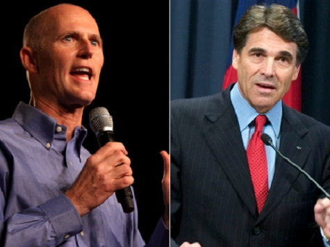 Texas, Florida Governors Attempt to Woo Sean Hannity to Their States