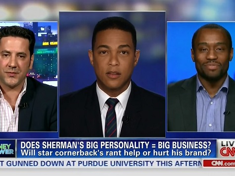 CNN's Marc Lamont Hill: Double Standard for White and Black Athletes in Richard Sherman Incident