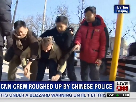WATCH: CNN Crew Roughed Up by Chinese Police