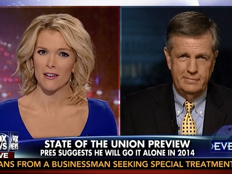 Brit Hume on Obama's Aggressive 'Pen and Phone' Remarks: It's 'All He's Got Left'