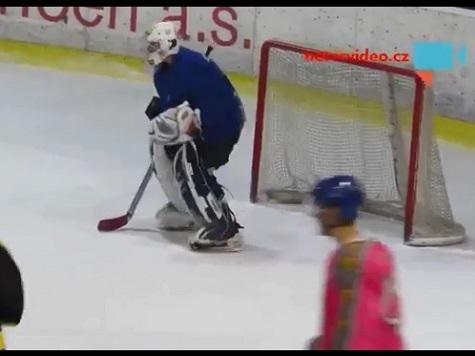 Amateur Hockey Goalie Allegedly Drunk During Game