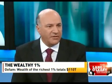 Billionaire and 'Shark Tank' Star Kevin O'Leary Sees Upside to Global Income Inequality