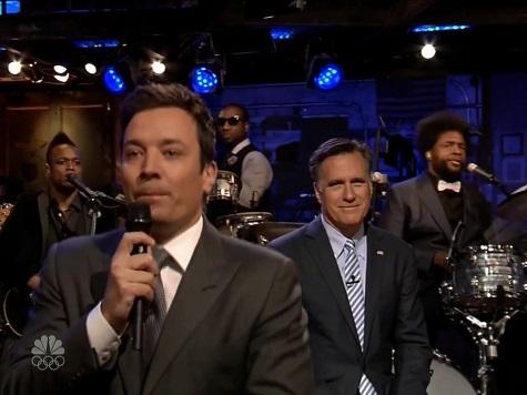 Mitt Romney 'Slow Jams' the News with NBC's Jimmy Fallon