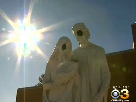 Vandals Hack Off Faces of Mary and Joseph Statues, Decapitate Baby Jesus at Catholic Churches