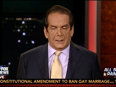 Krauthammer: Obama SOTU Message Indicates an Admission 'He's a Failure'