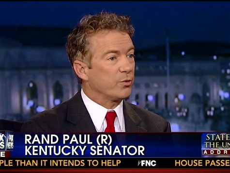 Rand Paul Responds to the SOTU: 'Underwhelmed'
