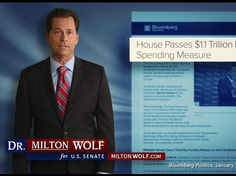 Kansas Candidate for US Senate Milton Wolf Gives 'Family Response' to SOTU