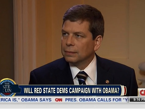 Democrat Mark Begich Wants to Campaign Against Obama