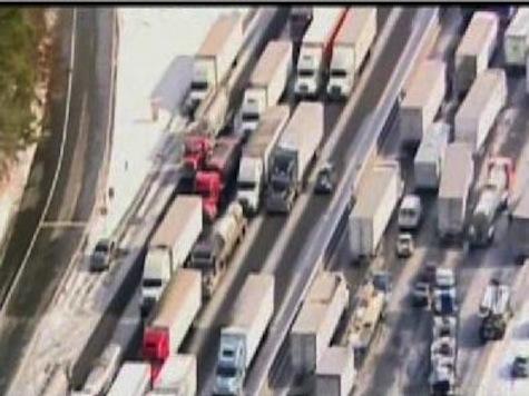 Ice Snarls The South; Hundreds Stranded In Atlanta