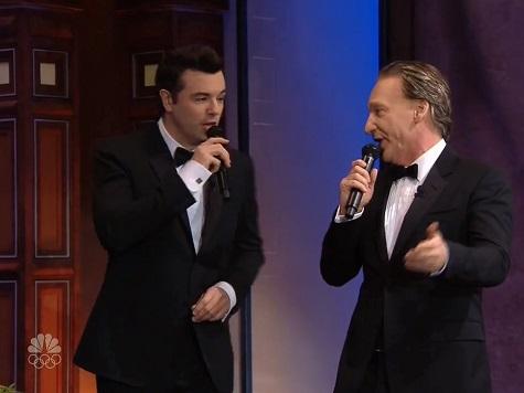 Bill Maher, Seth MacFarlane Sing Jay Leno Farewell