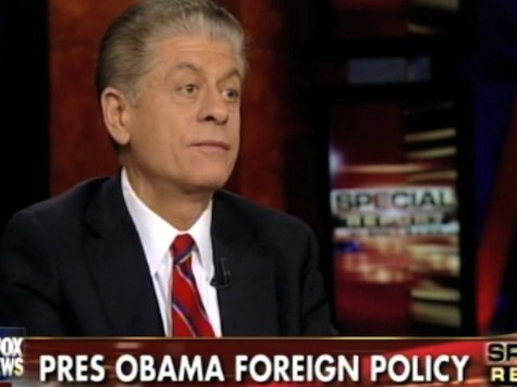 Judge Napolitano: Obama Has Shown an 'Incredible Wiliness and Facility for Lying'