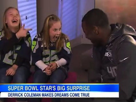 Deaf NFL Star Gives Deaf Twins Super Bowl Tickets