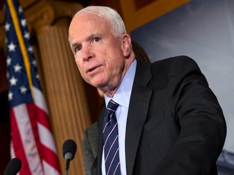 McCain: Middle East Won't Leave US Alone Because Obama Has Made Us Weak and Untrusted