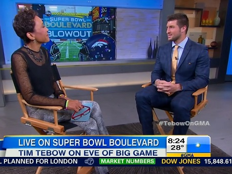 Tim Tebow Discusses Faith and His New Role as a College Football Commentator