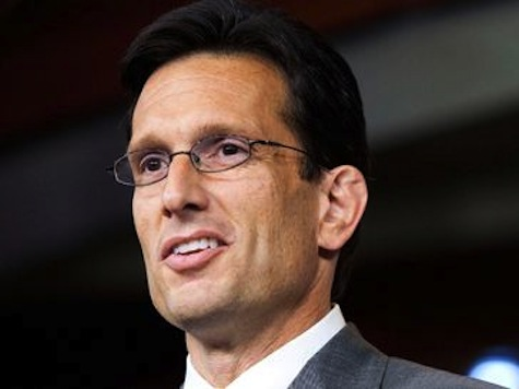 Eric Cantor: 'ObamaCare is On Borrowed Time'