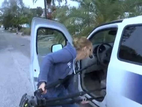 Woman Steals Local Reporter's Car on Camera