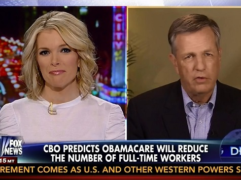 Hume Attacks 'Unconvincing,' 'Pathetic' White House Briefing: 'Obamacare Is Going to Discourage Work'