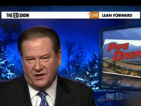 Keystone Trial Balloon for Obama? MSNBC's Ed Schultz Comes Out in Favor of Pipeline