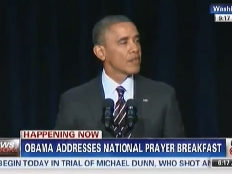 Obama Speaks at the National Prayer Breakfast