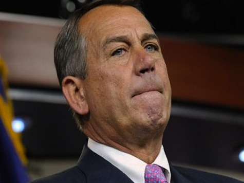 Boehner: Lack of Trust in Obama Will Stall Immigration