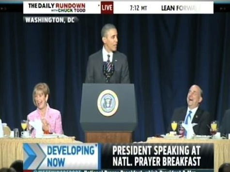Obama Teases Louie Gohmert at National Prayer Breakfast