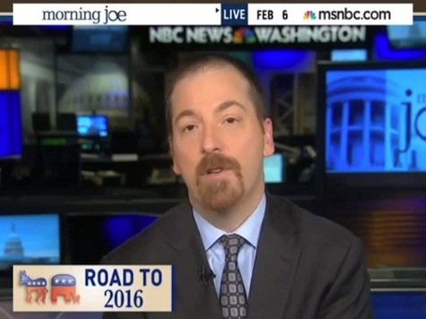 Chuck Todd Attacks 'Cynical' Sarah Palin: Would Only Run for President for Cash and Career Advancement