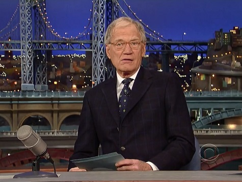 CBS's David Letterman Bids 'Friend' and Rival Jay Leno Goodbye