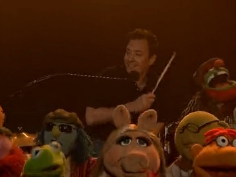 Jimmy Fallon and The Muppets Sing Goodbye to 'Late Night'