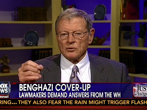 Inhofe Doubles Down on Claim Benghazi Cover-Up Is 'Worse than Watergate'