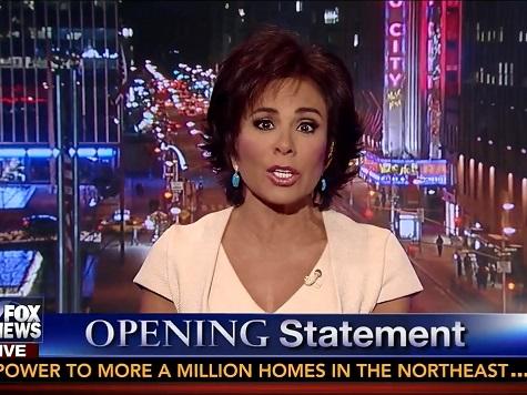 FNC's Judge Jeanine Castigates Obama for Benghazi, 'Phony Scandal' Remarks