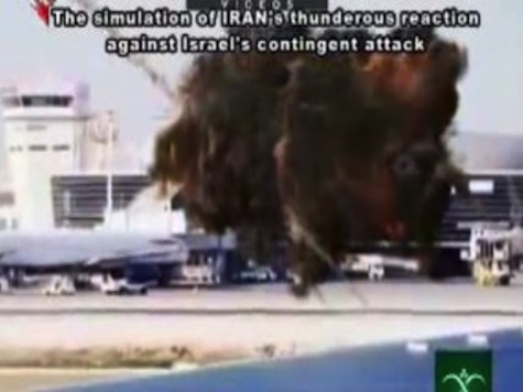 Iranian TV Airs Simulated Bombing of Tel Aviv, US Aircraft Carrier