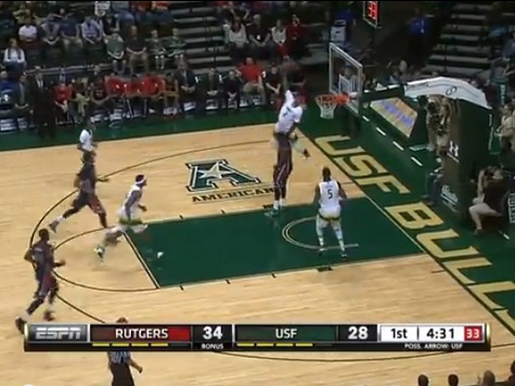 USF's Victor Rudd Throws Down a 'Mozgov'