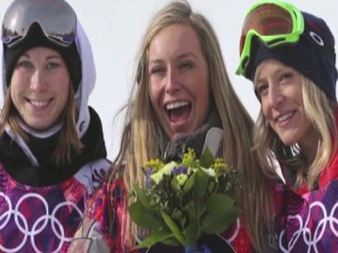 US Sweeps Medals in New Snowboard Slopestyle Event