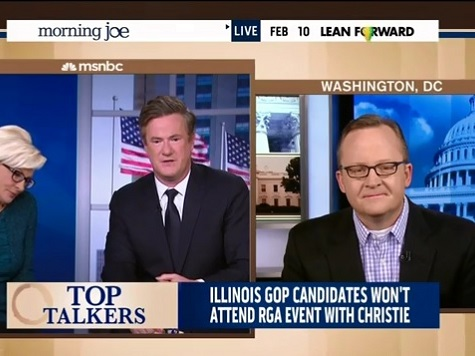 Scarborough Calls Out Former White House Press Secretary for Obama-Christie Double Standard