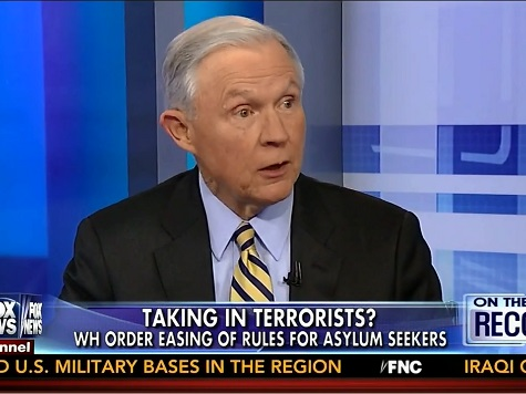 Sessions: WH Ease of Rules for Asylum Seekers 'Another Example' of Undermining Enforcement of Law