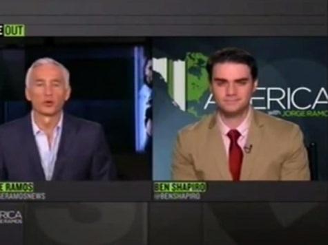 Ben Shapiro Discusses Michael Sam on 'America with Jorge Ramos'