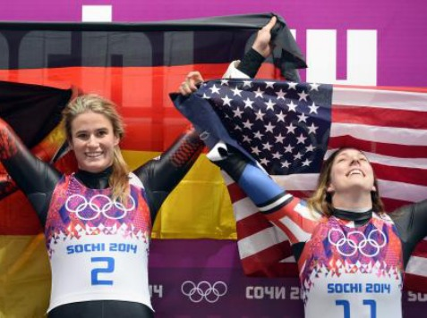 America Wins Its First Ever Luge Medal