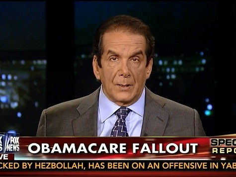 Krauthammer on Obama's Lawlessness: 'It Exists in Obama's Head. It's Whatever He Thinks'
