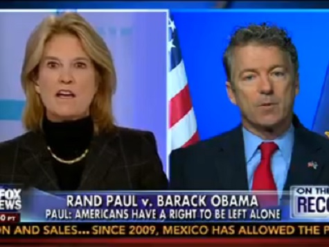 Van Susteren to Rand Paul: No Judge Has the Courage to Uphold the Constitution and Side with You