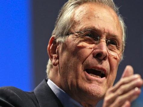 Donald Rumsfeld: Hillary Clinton is Responsible for Benghazi