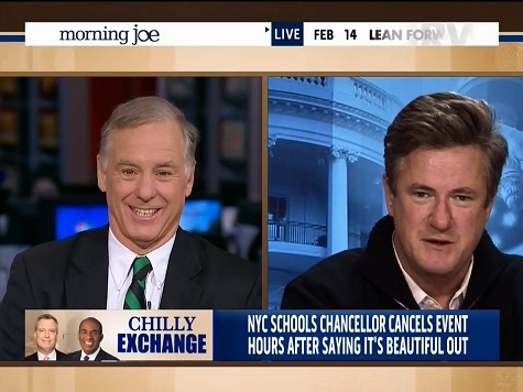 Scarborough Suggests De Blasio in Over His Head as NYC Mayor with Snowstorm Response