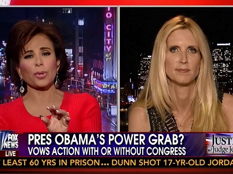 Coulter on Combating Obama's Overreach: 'The First Black President Is Not Going to Be Impeached'