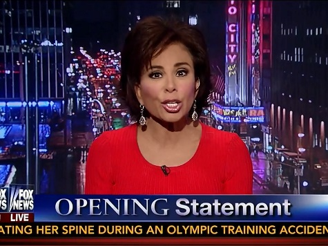 Judge Jeanine: 'We Have a President Who Signs Laws He Doesn't Intend to Follow'