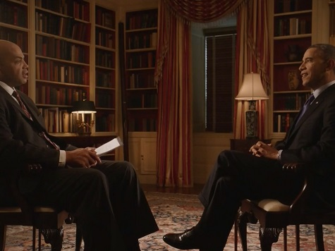Obama Discusses Basketball, Promotes ObamaCare in Interview with Former NBA Great Charles Barkley